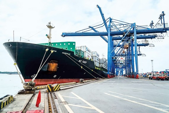 Although considered a big port in the South, it is still an Inland Container Depot, not a logistics center.