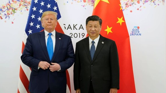 China's Commerce Ministry accused U.S. President Donald Trump of violating a consensus reached with Chinese President Xi Jinping in Osaka.   © Reuters