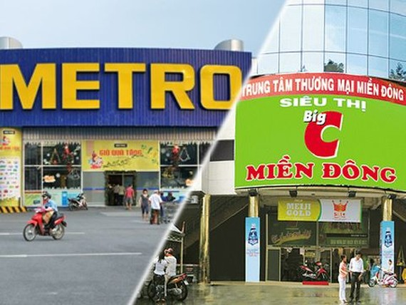 Big C and Metro, two strong foreign retailers.