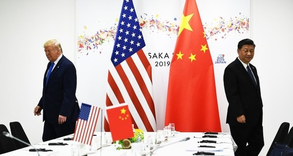 In this file photo taken on June 29, 2019 Chinese President Xi Jinping (R) and US President Donald Trump attend their bilateral meeting on the sidelines of the G20 Summit in Osaka. (AFP Photo)