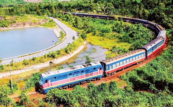 Vietnam's railway infrastructure is both weak and backward.