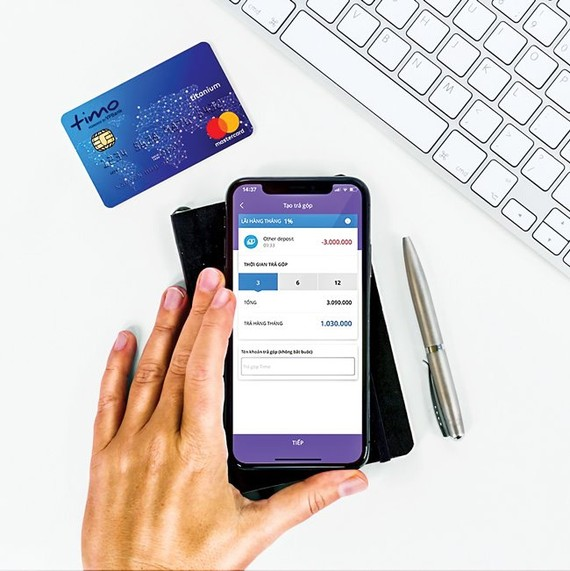 The Timo digital bank model has been widely applied by VPBank with products and services as well as independent sales policies.