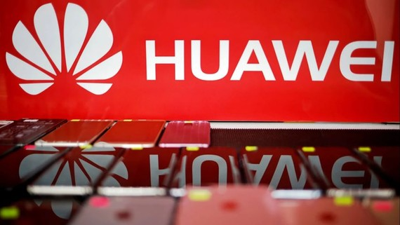 Huawei buys more than $6 billion a year in Japanese-made components.   © Reuters