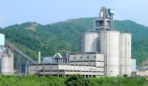 Thai Nguyen cement factory.