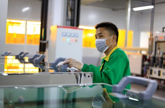 The closing of Foxconn's factory in Taipei over the outbreak of the Coronavirus could affect iPhone production.