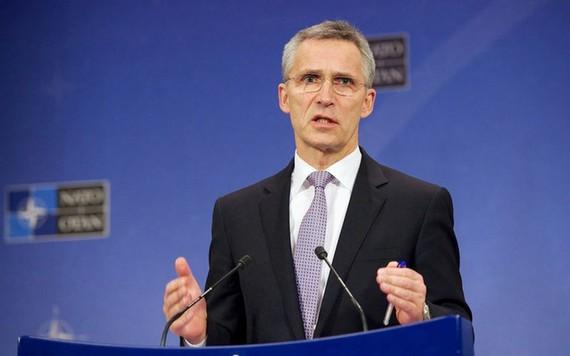 Tổng thư kí NATO Jens Stoltenberg. Ảnh: AP