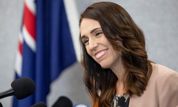 Thủ tướng New Zealand Jacinda Ardern dự buổi họp báo ở thành phố Christchurch hôm 13/3. Ảnh: Reuters.