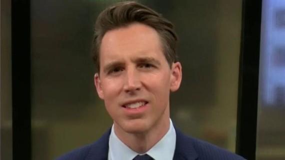 Thượng nghị sĩ Josh Hawley. (Ảnh: Foxnews)