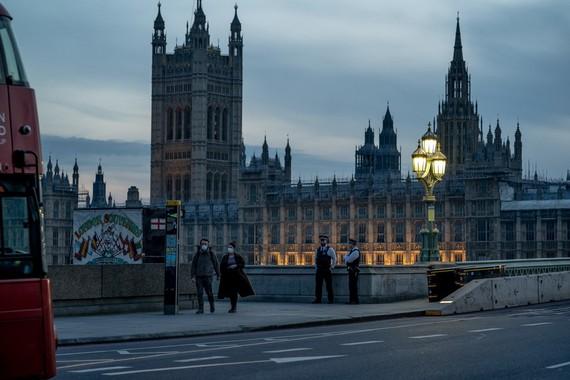 Tòa nhà quốc hội Anh ở London. Ảnh: New York Times.