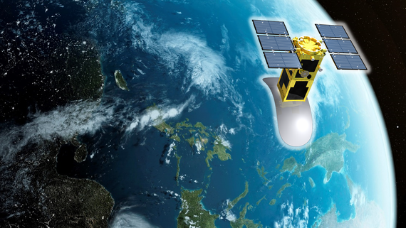 This NEC-developed satellite is scheduled to be sent into orbit in 2023. (Image courtesy of NEC)