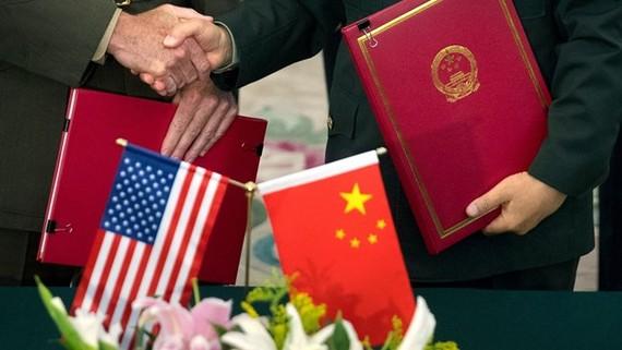 Mỹ sẽ sẽ áp đặt những hạn chế mới đối với một số hoạt động xuất khẩu sang Trung Quốc. (Nguồn: AFP)