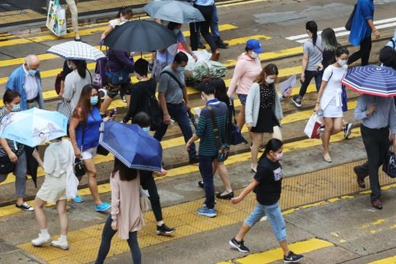 Trung Quốc có kế hoạch áp đặt luật an ninh quốc gia đối với Hồng Kông có nguy cơ làm leo thang thêm căng thẳng giữa Mỹ và Trung Quốc. Ảnh: Dickson Lee