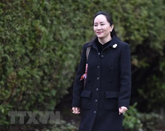 CFO Tập đoàn Huawei của Trung Quốc, Mạnh Vãn Châu. (Nguồn: AFP/TTXVN)