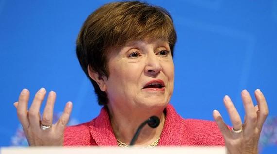 Giám đốc điều hành IMF Kristalina Georgieva. (Ảnh: AP)