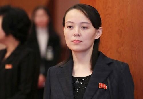Bà Kim Yo-jong, em gái cả nhà lãnh đạo Triều Tiên Kim Jong-un. Ảnh: Reuters