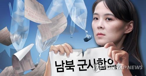 Ảnh minh họa bà Kim Yo-jong đe dọa hủy bỏ thỏa thuận quân sự chung giữa hai miền Triều Tiên. Ảnh: Yonhap