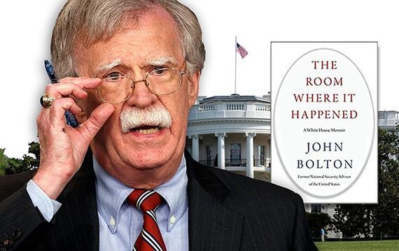 Ông Bolton và cuốn hồi ký gây tranh cãi.