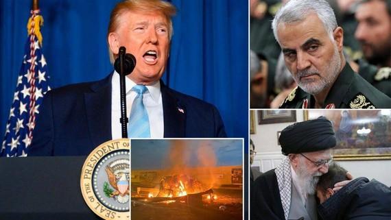 Iran muốn Interpol bắt giữ ông Donald Trump.