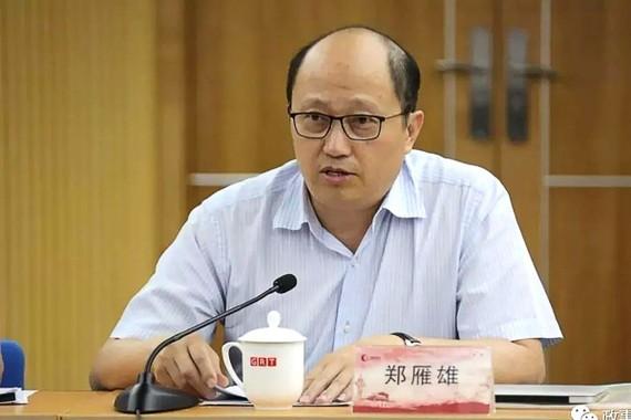 Zheng Yanxiong, người đứng đầu văn phòng an ninh quốc gia Bắc Kinh tại Hồng Kông. Ảnh: Handout