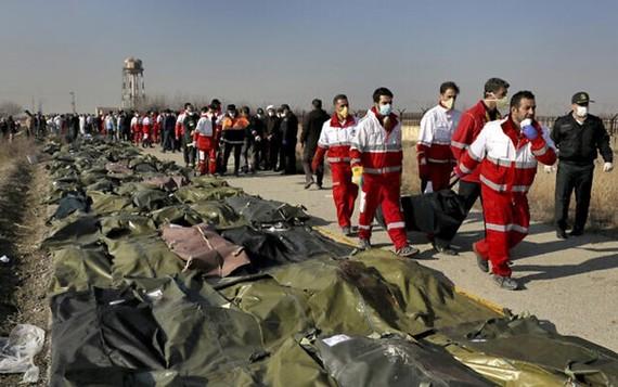 Các nạn nhân thiệt mạng trong vụ bắn nhầm máy bay. (Ảnh: AP)