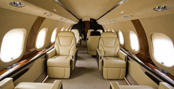 Nội thất bên trong Bombardier Global 6000