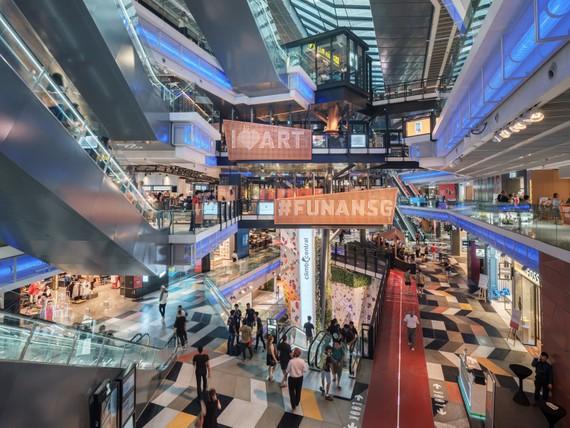 Trung tâm mua sắm Funan, Singapore (Hình: ©Raphael Olivier)
