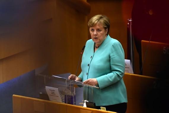 Thủ tướng Đức Angela Merkel. (Nguồn: Bloomberg)