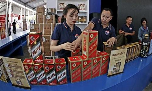 Công ty Kweichow Moutai  chuyên sản xuất rượu.