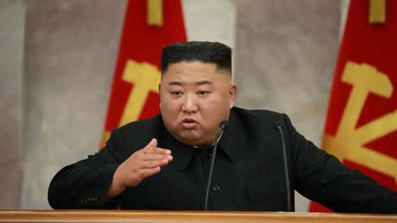 Chủ tịch Triều Tiên Kim Jong Un - Ảnh: Bloomberg