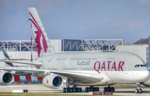 Máy bay của hãng hàng không Qatar Airways. (Nguồn: Flickr).