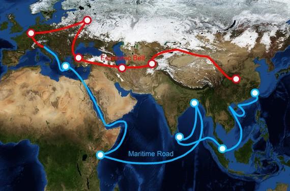 Nga không cần 'Một vành đai-một con đường' của Bắc Kinh