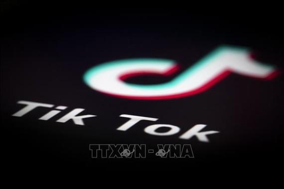 Biểu tượng TikTok. Ảnh: AFP/TTXVN