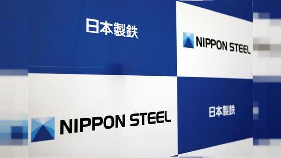Các logo của Nippon Steel Corp tại trụ sở công ty ở Tokyo, Nhật Bản ngày 18 tháng 3 năm 2019. REUTERS / Yuka Obayashi