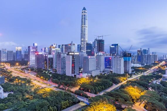 Thành phố Thâm Quyến, Trung Quốc Ảnh: LIAO XUN / Getty Images
