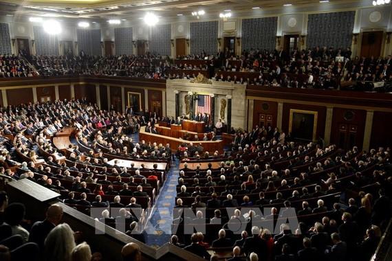 Toàn cảnh cuộc họp Quốc hội Mỹ tại Washington, DC. Ảnh: AFP/ TTXVN