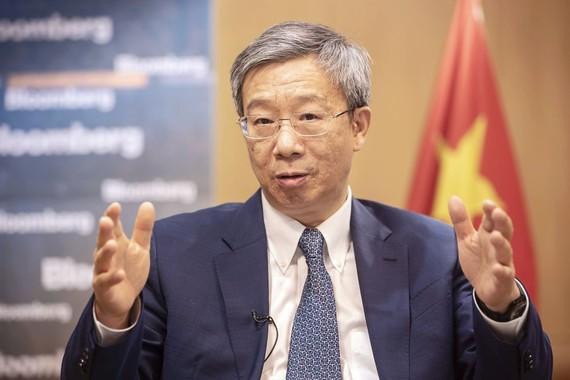 Thống đốc Ngân hàng Nhân dân Trung Quốc Dịch Cương Ảnh: Bloomberg