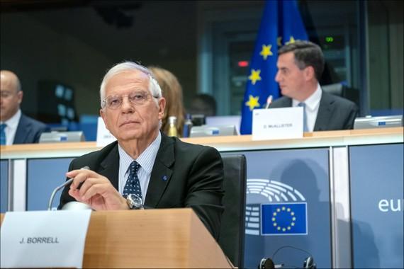 Josep Borrell, Đại diện Ngoại giao và An ninh Cấp cao kiêm Phó Chủ tịch Ủy ban châu Âu. Ảnh: Flickr/European Parliament