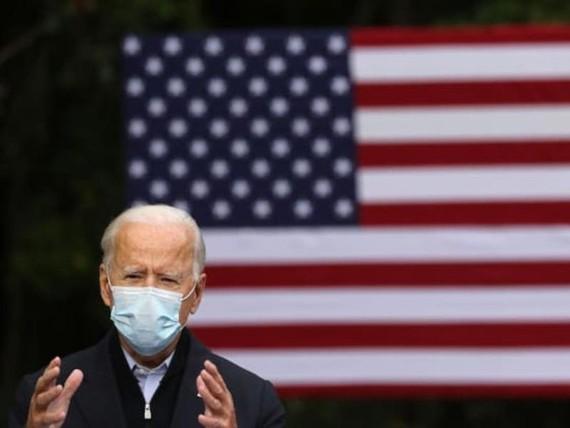 Ứng viên đảng Dân chủ Joe Biden.
