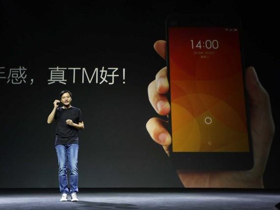 Người sáng lập Xiaomi Lei Jun. Ảnh: REUTERS/Jason Lee