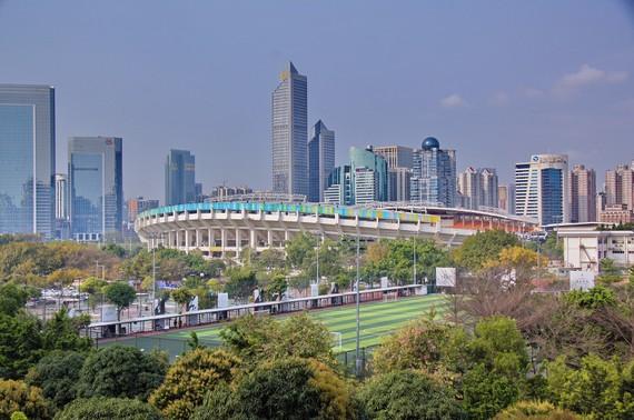 Thành phố Quảng Châu thuộc tỉnh Quảng Đông, miền Nam Trung Quốc