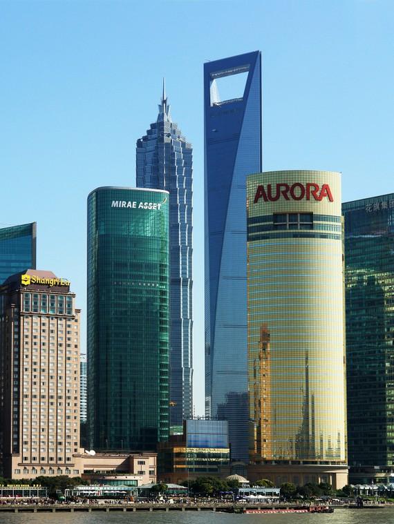 Các tòa nhà chọc trời ở thành phố Thượng Hải, Trung Quốc
