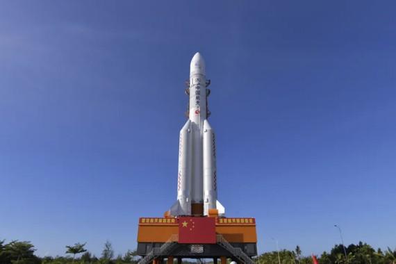 Tên lửa Long March-5. Ảnh: CASC