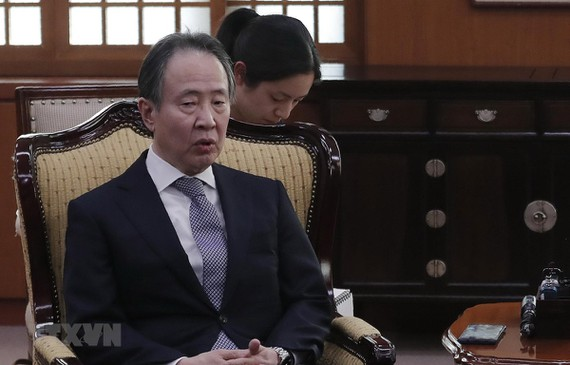 Ông Koji Tomita dự kiến sẽ trở thành tân đại sứ Nhật Bản tại Mỹ. (Ảnh: AFP/TTXVN)