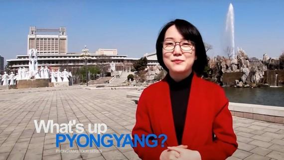 """Hình ảnh được trích từ đoạn phim của kênh Youtube """"Echo of Truth"""", giới thiệu những nét đặc trưng tại thủ đô Bình Nhưỡng mà trước đây ít người biết đến. Nguồn ảnh: Sputnik"""