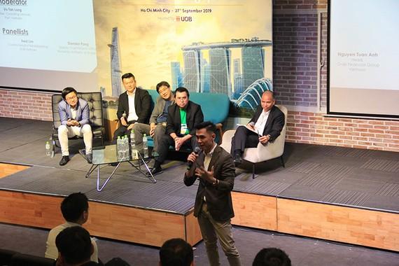A FinTech event in Vietnam.