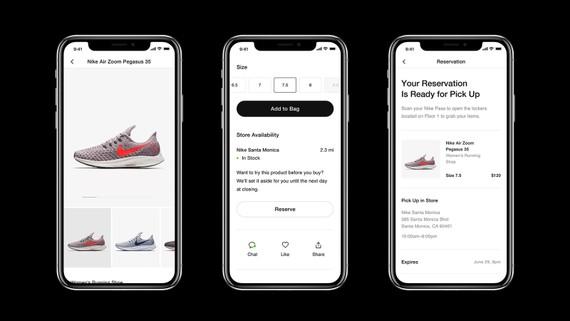 Nike đã cho ra mắt ứng dụng của riêng họ để thúc đẩy mua sắm trưc tuyến đồng thời tạo ra những buổi tập thể lực ngay tại nhà. Nguồn ảnh: Nike News