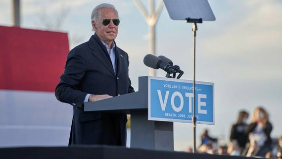 Joe Biden's legislative agenda and nominees would have a better chance in a Democratic-controlled Senate © The Photo Access