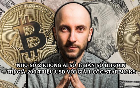 """Tỷ phú """"hụt"""" từng ném qua cửa sổ 55.000 Bitcoin"""
