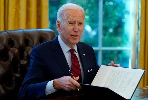 Tổng thống Joe Biden. Ảnh: AP
