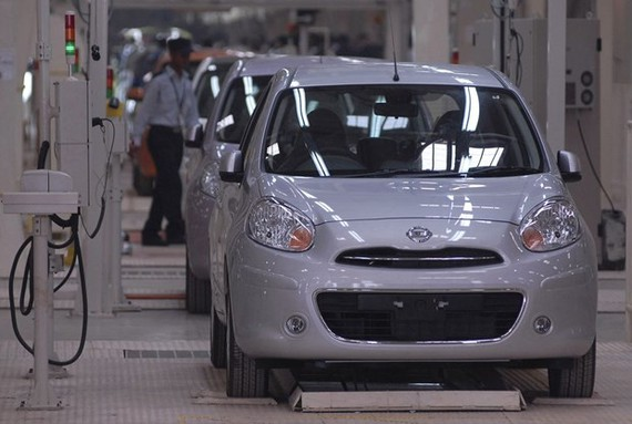 Nhà máy sản xuất ôtô của Renault-Nissan. (Nguồn: Reuters)
